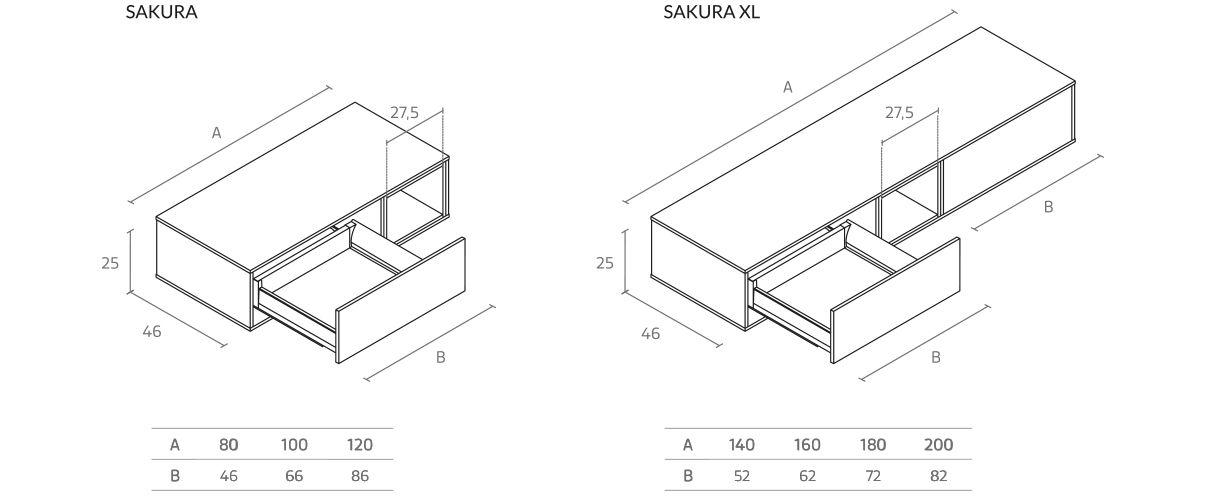 medidas-sakura